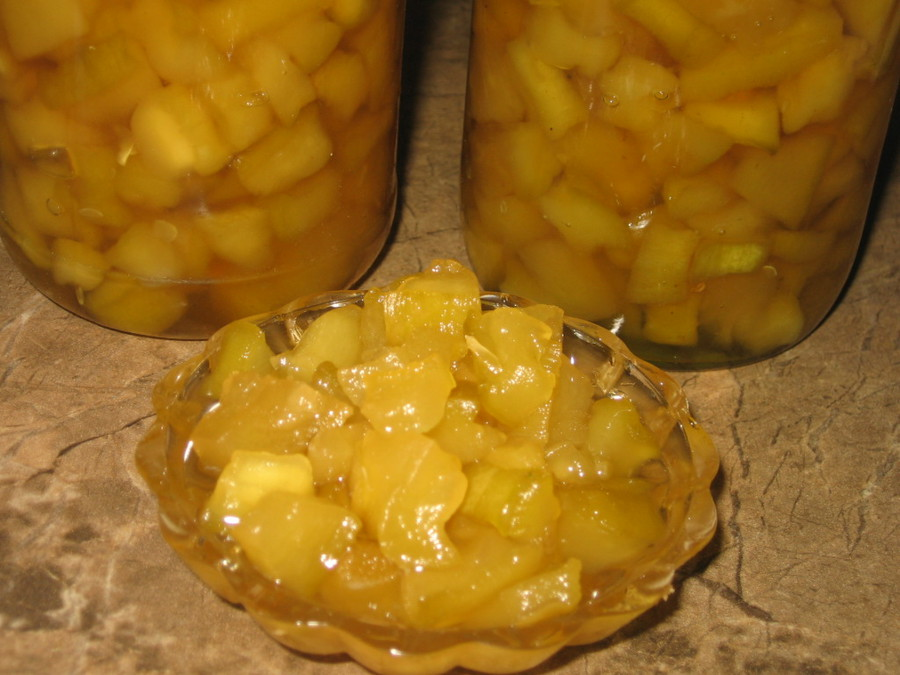 Варенье из ананаса | десерты и выпечка