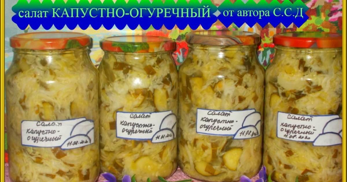 Пошаговые рецепты маринования огурцов с капустой в банках на зиму и условия хранения консервации