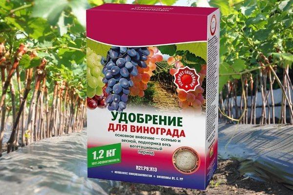 Удобряем виноград для быстрого и хорошего роста