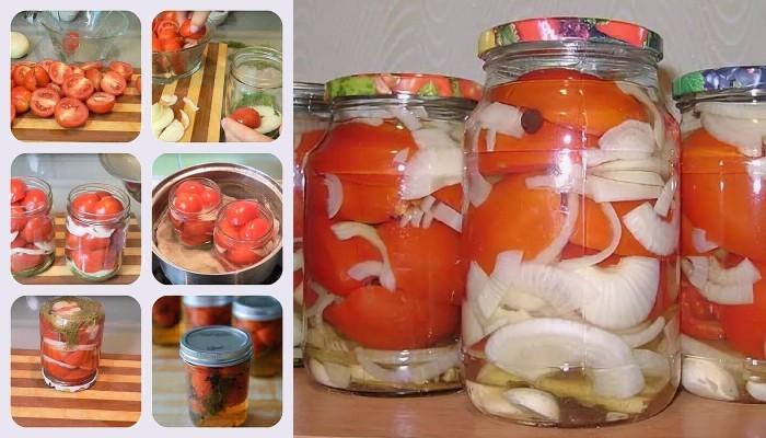 Рецепты консервирования помидоров в желе на зиму пальчики оближешь