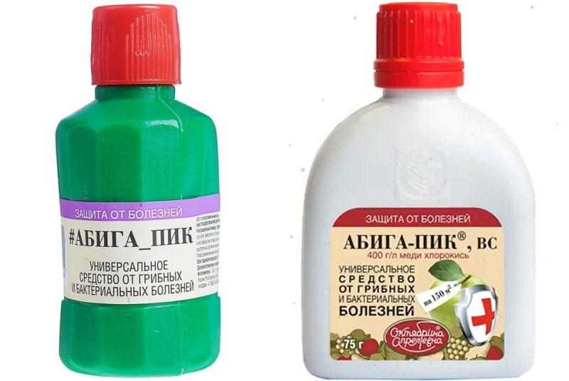 Фунгицид абига-пик описание, область применения, инструкция по обработке растений, отзывы о препарате