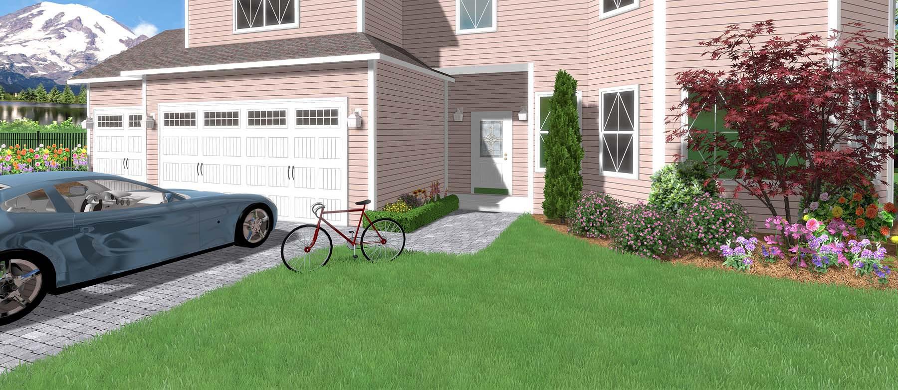 Дополнительные объекты для программы realtime landscaping architect    flokus.ru - ландшафтный дизайн