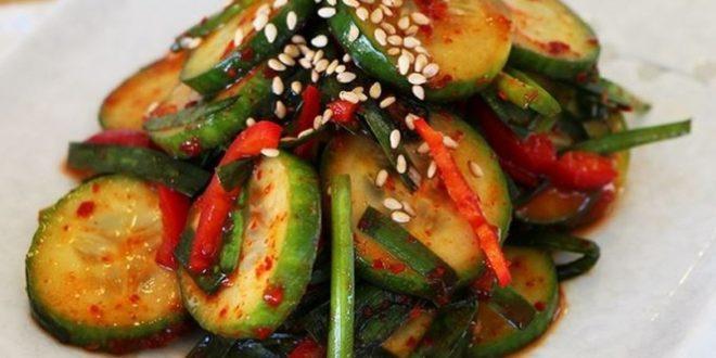 Кабачки по корейски быстрого приготовления - рецепты острой маринованной закуски на зиму