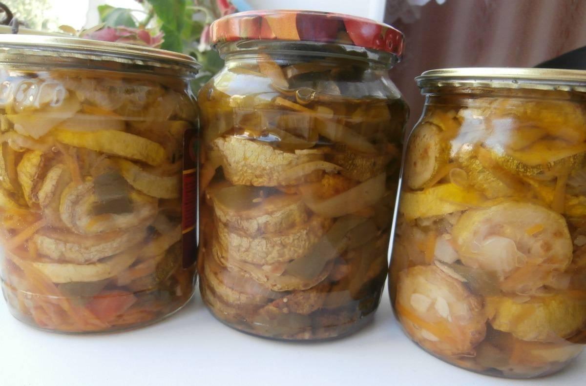 Кабачки на зиму – 6 рецептов вкусной заготовки