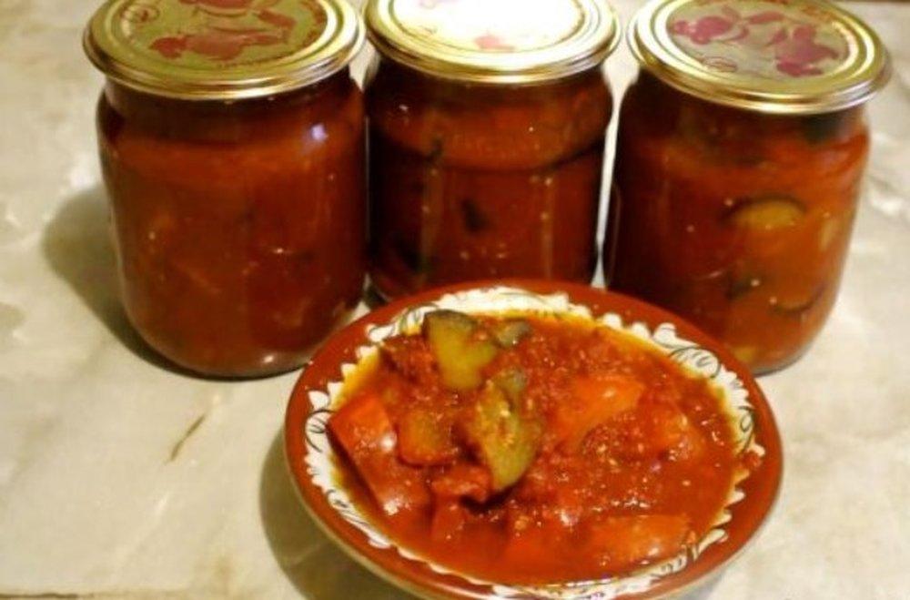 Рецепты приготовления вкусного лечо из баклажанов на зиму