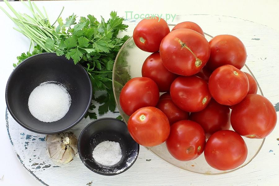 Моя коллекция рецептов помидоров в собственном соку  «пальчики оближешь»