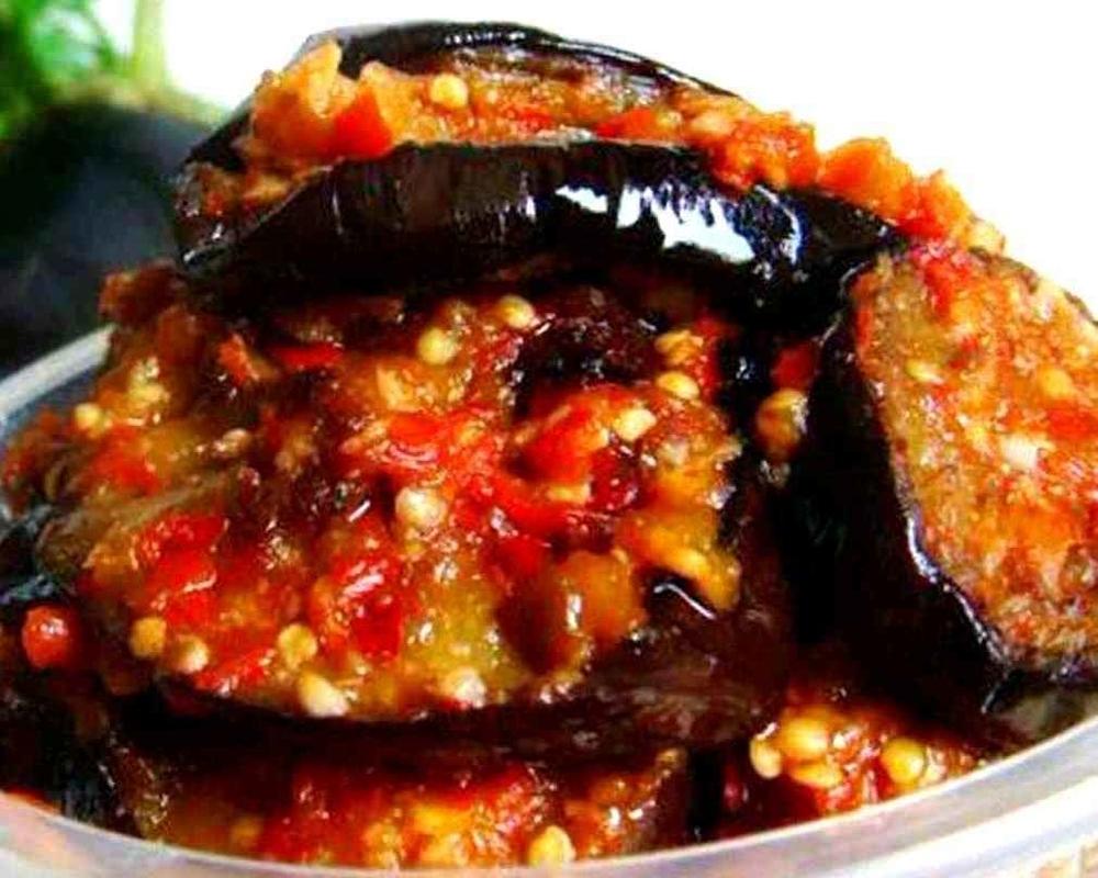 Салат «тещин язык» из баклажанов на зиму — рецепты объедение