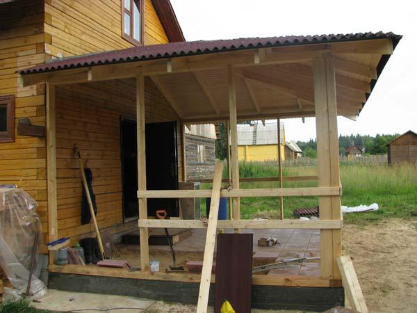 Как построить веранду своими руками - особенности строительства в этапах