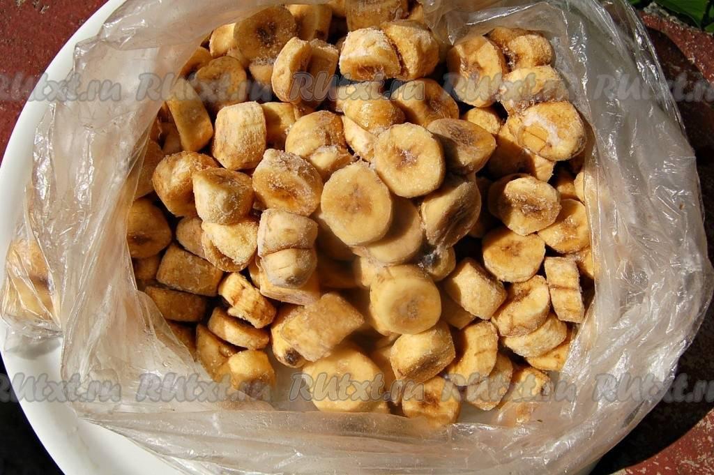 Можно ли заморозить бананы в морозилке для хранения на зиму