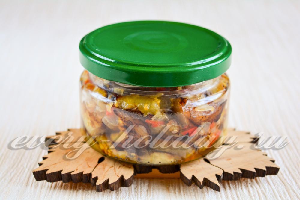 Баклажаны маринованные на зиму: лучшие рецепты