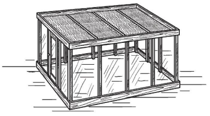 Как построить теплицу из старых оконных рам своими руками