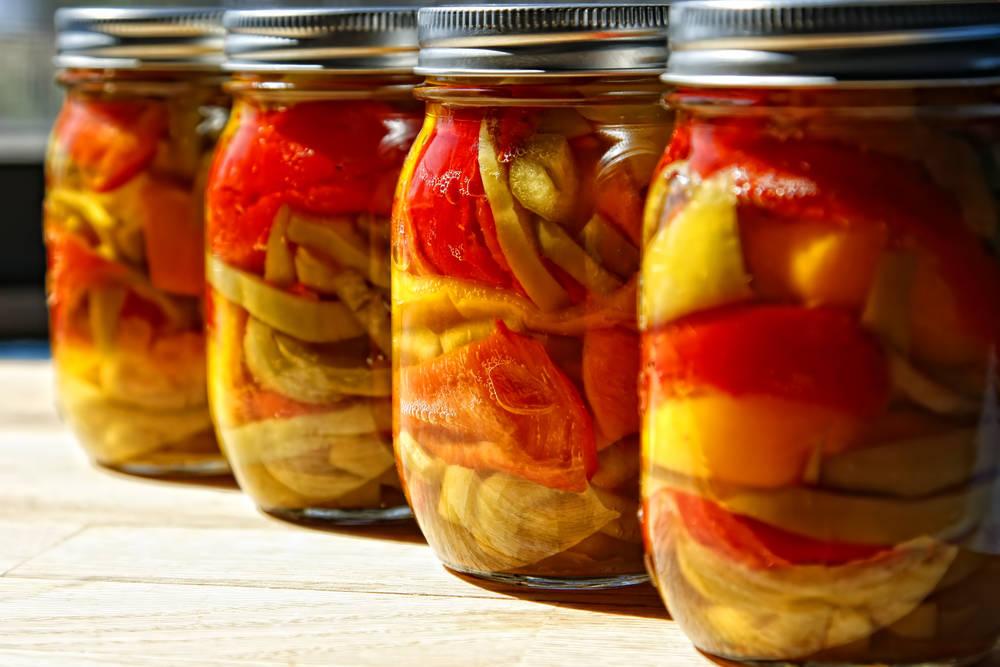 Маринованный болгарский перец на зиму пошаговый рецепт