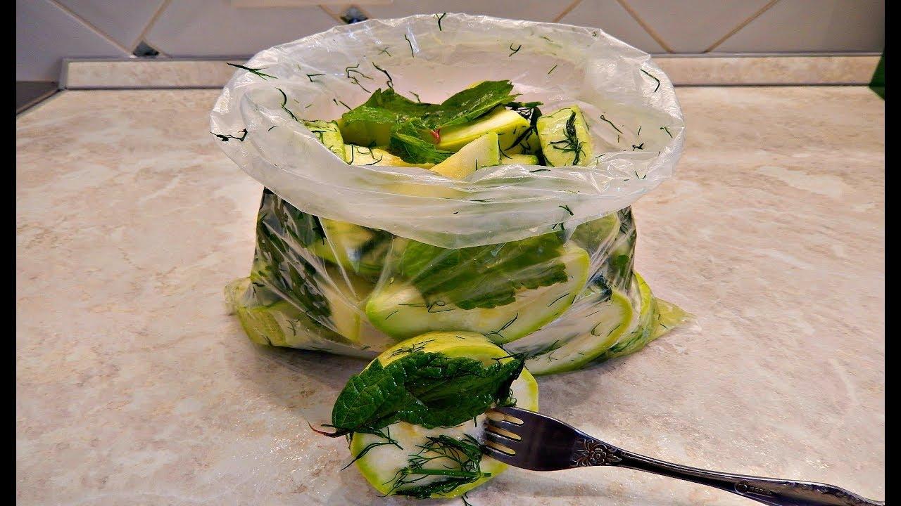 Малосольные кабачки быстрого приготовления: рецепты за 5 минут с фото и видео