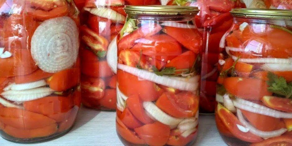Рецепты приготовления остреньких, очень вкусных помидоров по-корейски на зиму