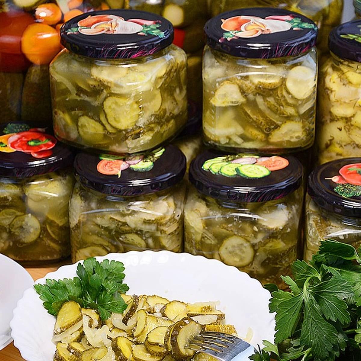 Лучший рецепт салата из свежих огурцов «зимний король»