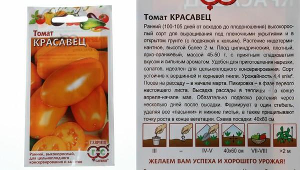 Описание томата красавец мясистый, его достоинства и недостатки