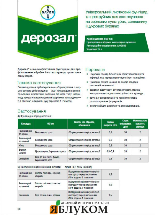 Фунгицид карбендазим: инструкция по применению и состав, нормы расхода