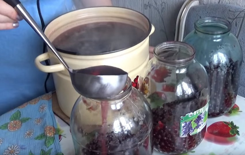 Компот из красной смородины на зиму