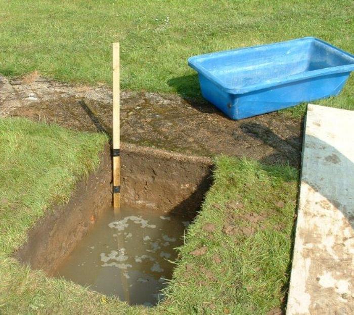 Проблема грунтовых вод на даче