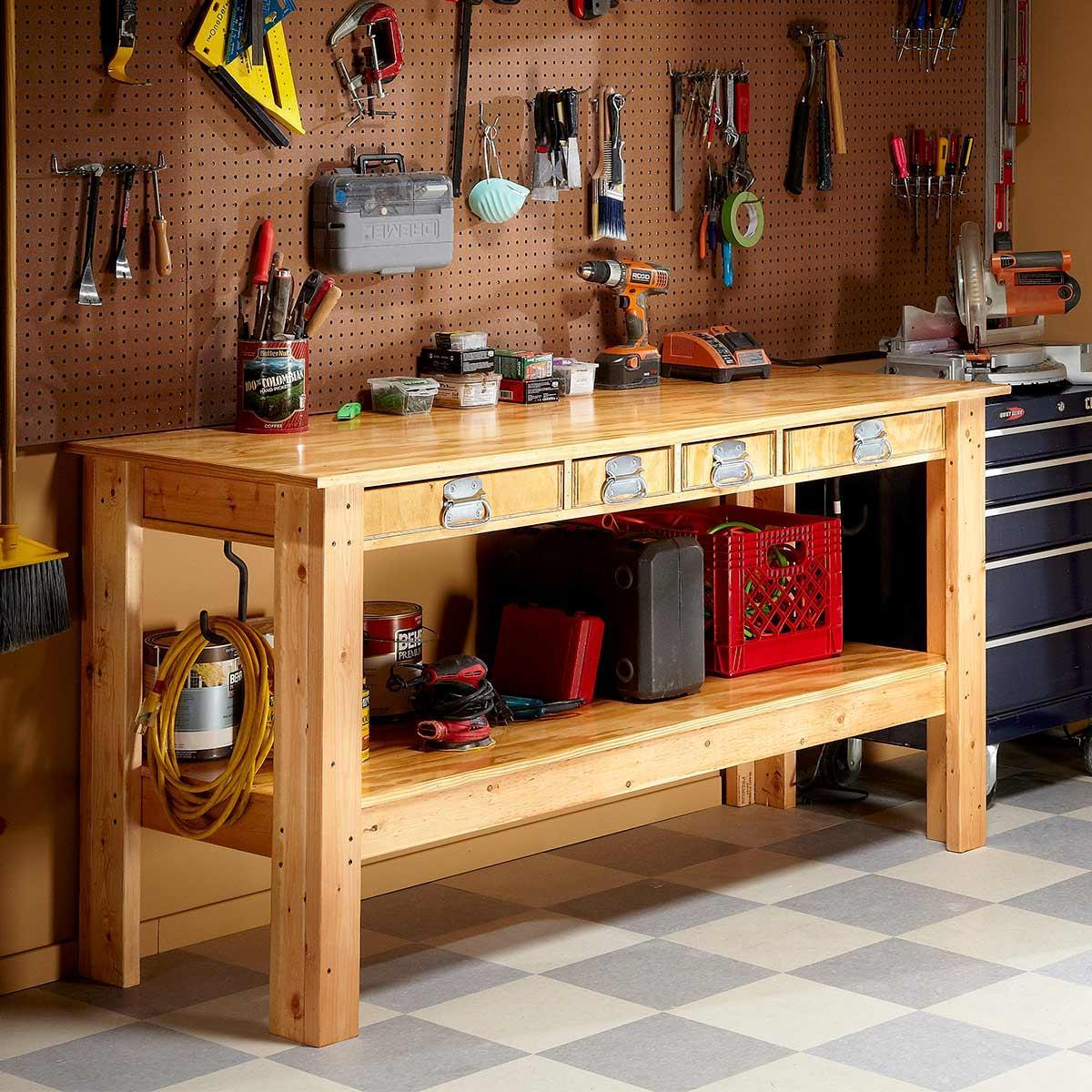 Столярная мастерская в гараже: как обустроить своими руками, инструменты