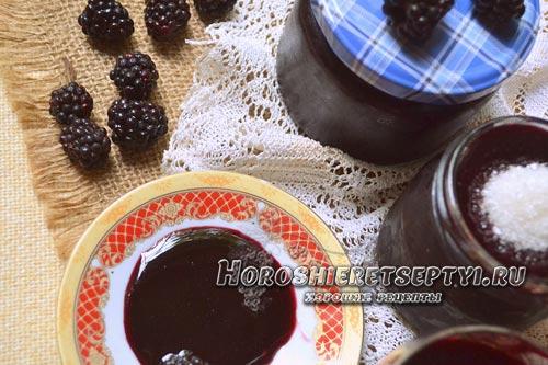 Рецепты ежевики с сахаром на зиму: протертой, замороженной