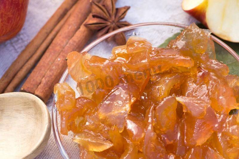 Варенье из яблок - рецепты в духовке, мультиварке, с грушами, апельсинами и брусникой