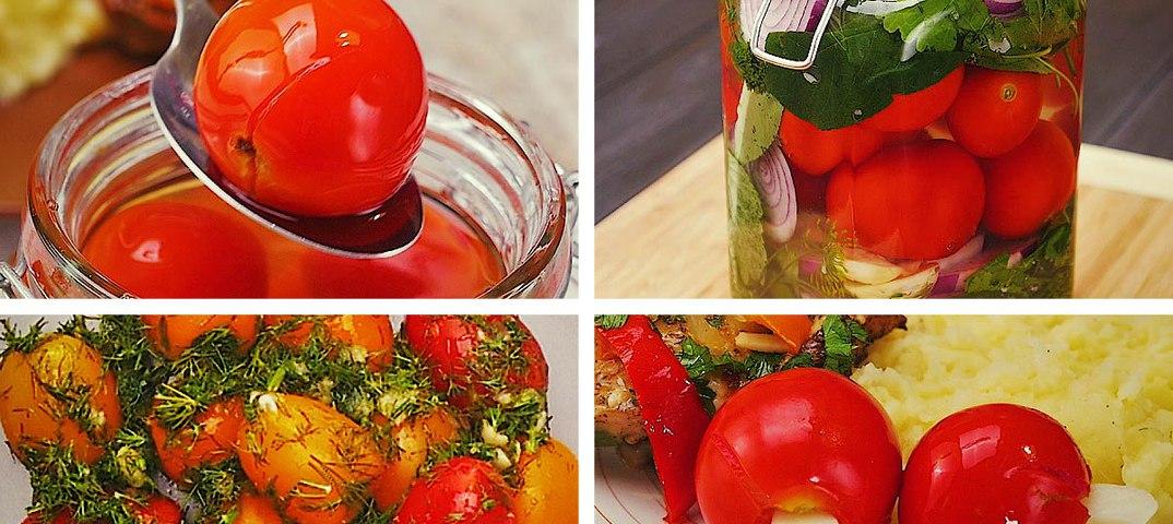 Через сколько можно есть маринованные помидоры после закатки. pravilnohranuedy.ru