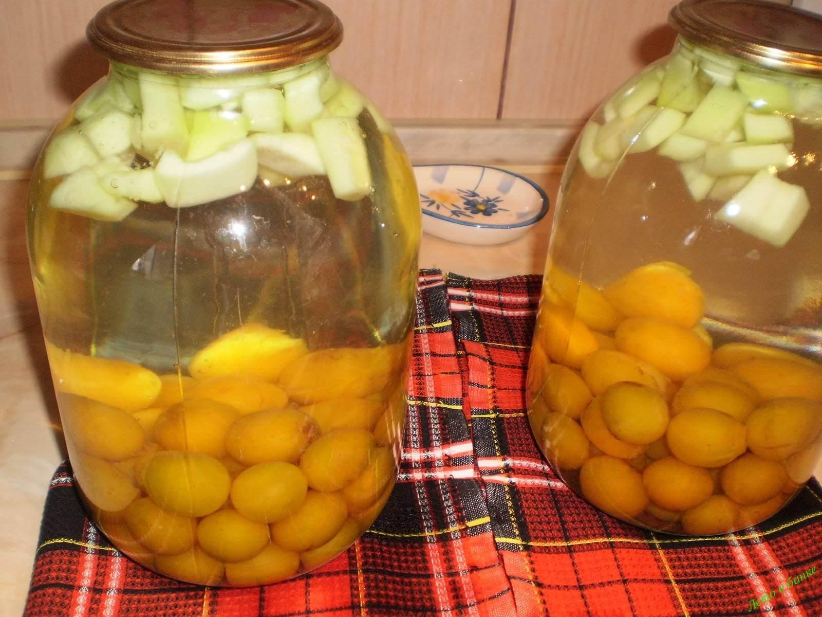 Витаминный компот из облепихи с яблоками