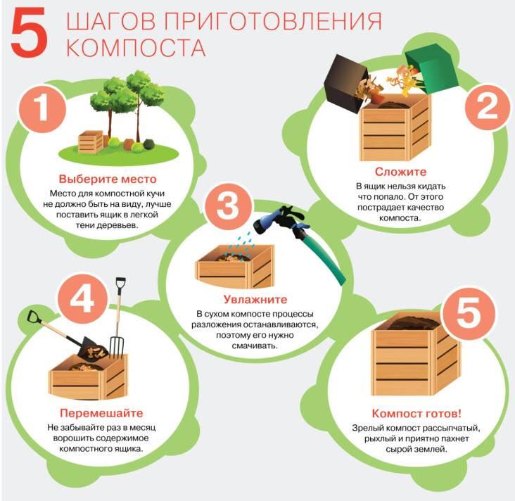 Как своими руками сделать правильный компост: этапы, советы и возможности