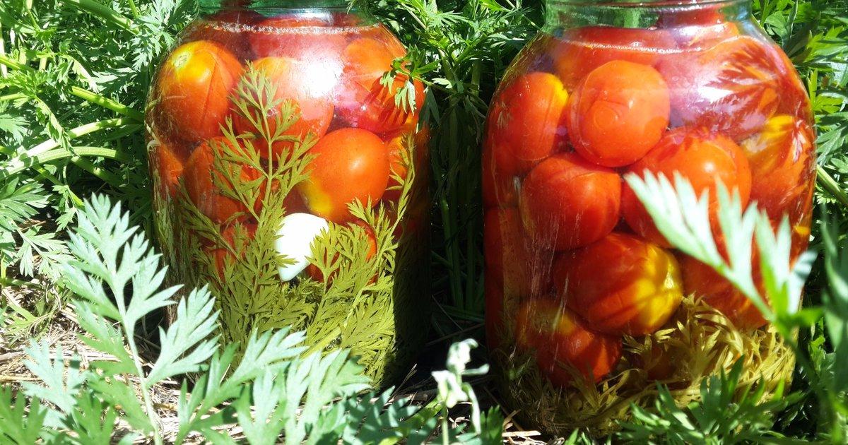 Помидоры с морковной ботвой на зиму: рецепты маринования с фото и видео