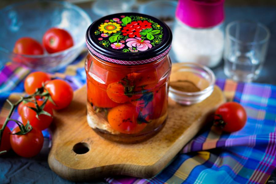 Помидоры в желе на зиму рецепт с фото: консервированные, маринованные и без стерилизации, видео