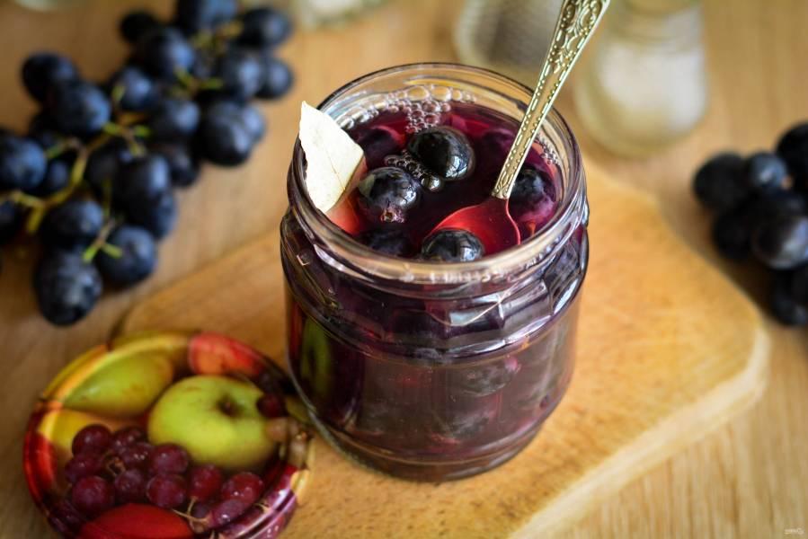 Пять рецептов маринования винограда своими руками