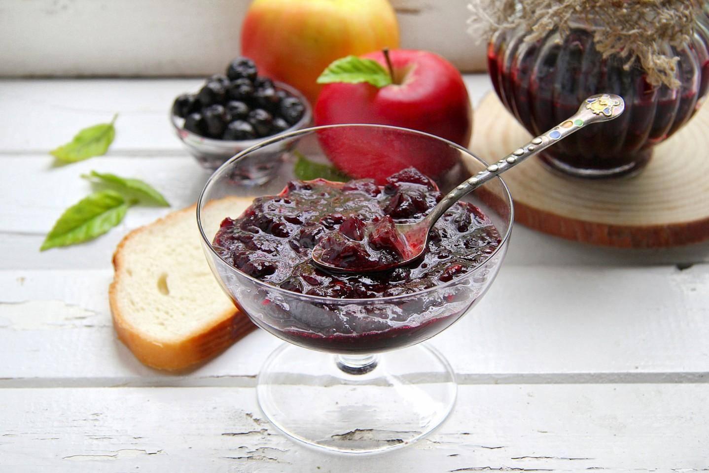 Варенье из черноплодной рябины на зиму - рецепт приготовления