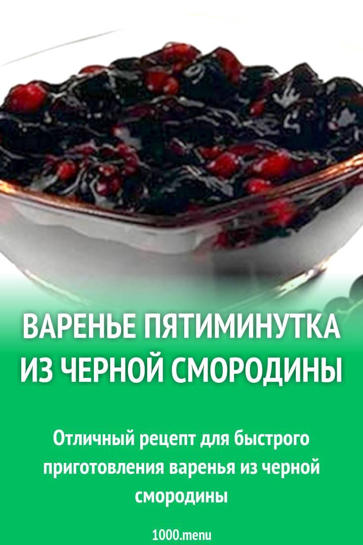 Варенье из черной смородины: 20 лучших рецептов на зиму, пятиминутка, в мультиварке, быстро, без варки, желе, с малиной, крыжовником