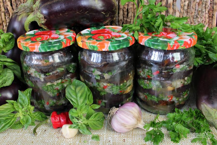 Вкусный салат на зиму из зеленой редьки
