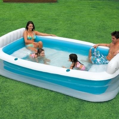 Как хранить надувной бассейн зимой?