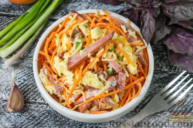 Салат с блинчиками - восхитительное разнообразие на любой вкус: рецепт с фото и видео