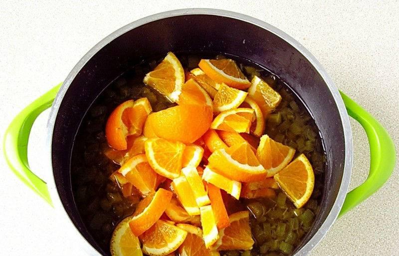 Варенье из апельсинов и апельсиновых корок — пошаговые рецепты с фото