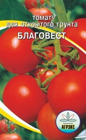 Характеристика и описание томата сорта Благовест, урожайность и выращивание