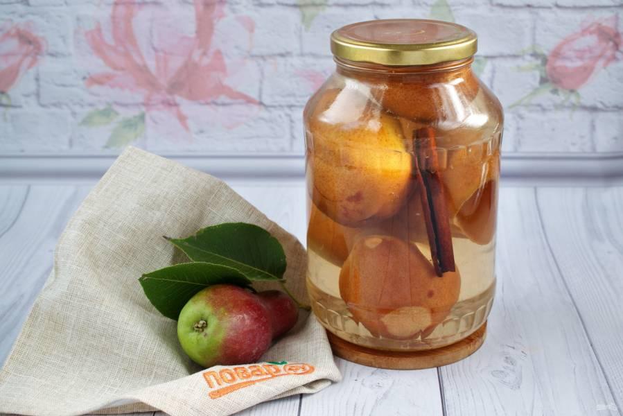 Компот из яблок и груш на зиму — рецепты приготовления, видео