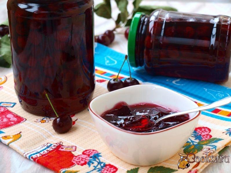 Заготовки из вишни: 11 лучших пошаговых рецептов приготовления на зиму