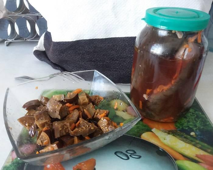 Маринованные баклажаны на зиму: лучшие рецепты, как замариновать синенькие вкусно (целиком и кусочками, остренькие, с луком и другими ингредиентами)
