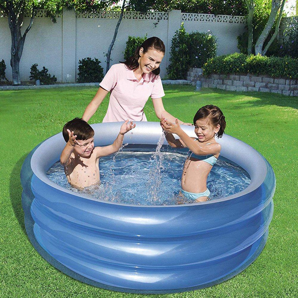 Какой же бассейн лучше каркасный или надувной?