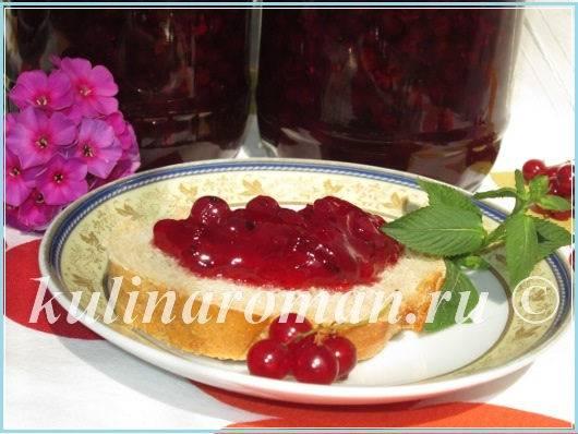 Варенье из черной смородины «пятиминутка» на зиму – желеобразное варенье 5 минутка (простой рецепт)