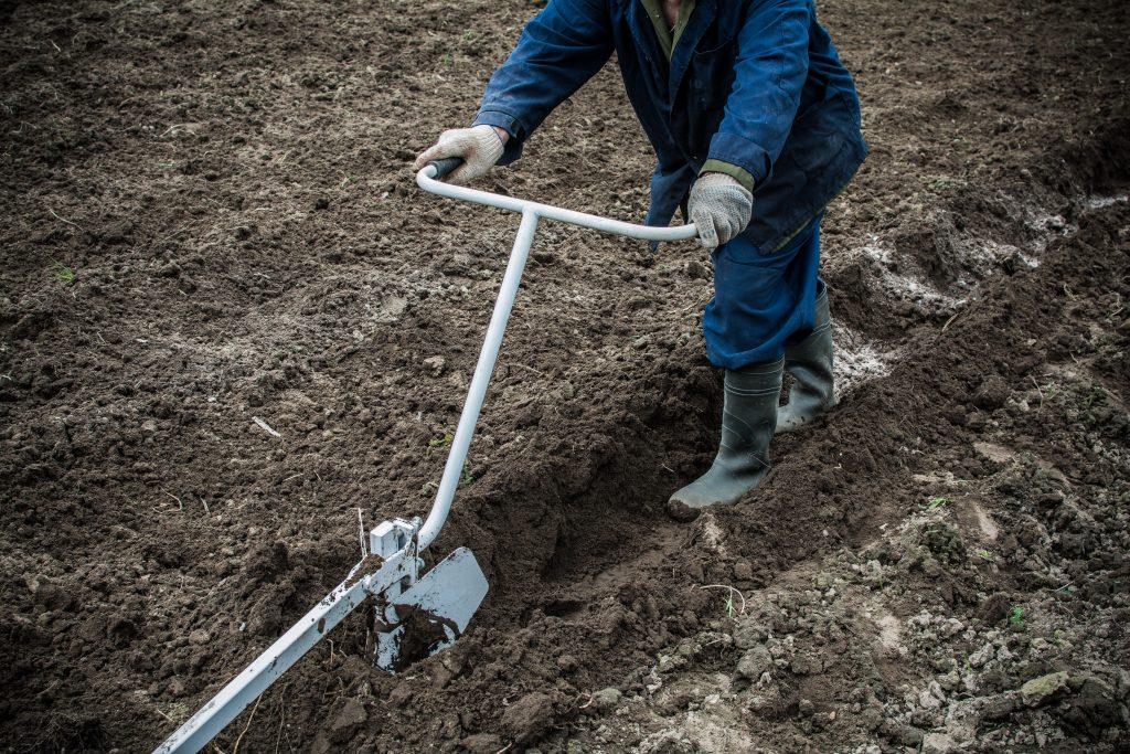 Маркеры и приспособления для посадки картофеля вручную, чертежи