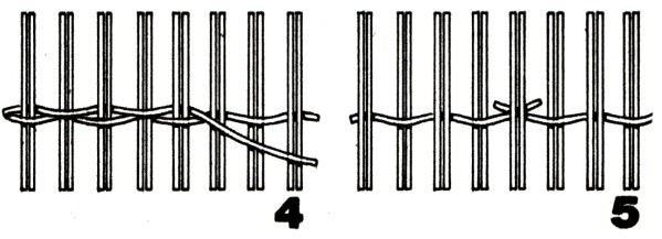 Забор плетенка из доски своими руками