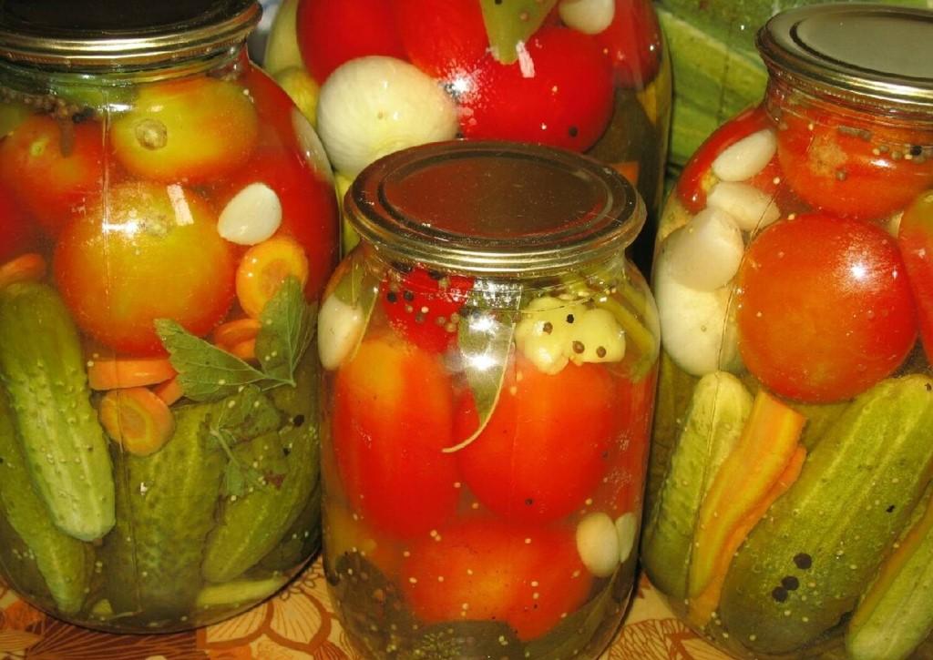 Ассорти на зиму - самый вкусный рецепт из овощей