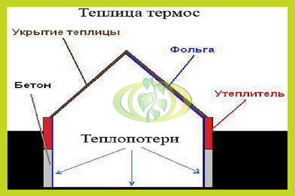 Устройство теплицы-термоса (48 фото): как построить подземную или заглубленную конструкцию своими руками по уникальной энергосберегающей технологии, что нужно знать о земле под постройку