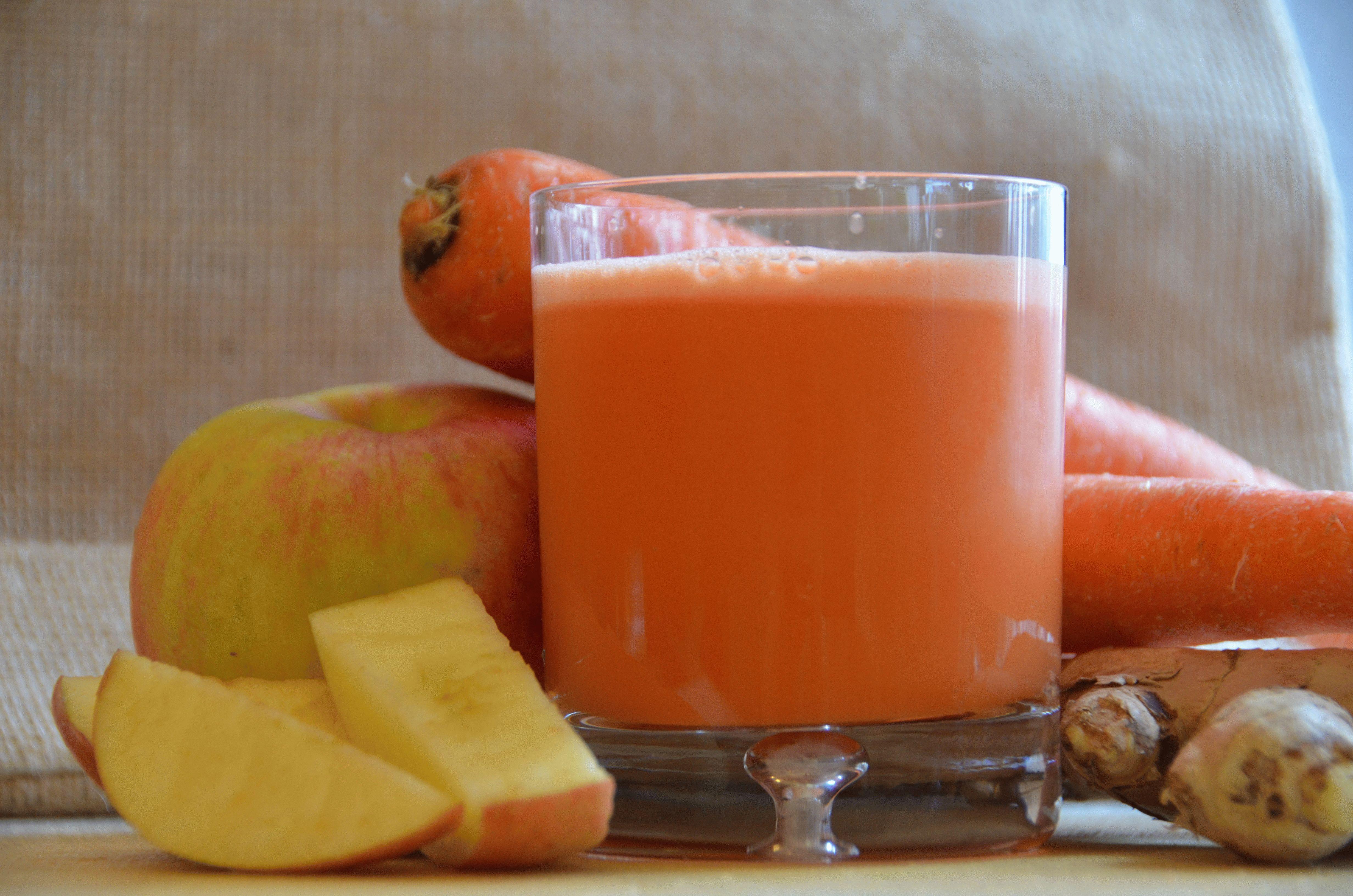 Сок морковный в домашних условиях на зиму