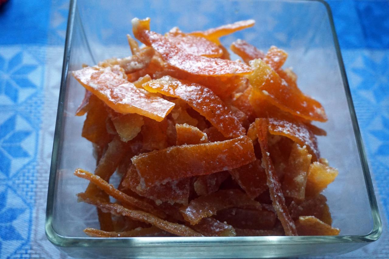 Цукаты из апельсиновых корок: как быстро приготовить лакомство в домашних условиях, классические рецепты